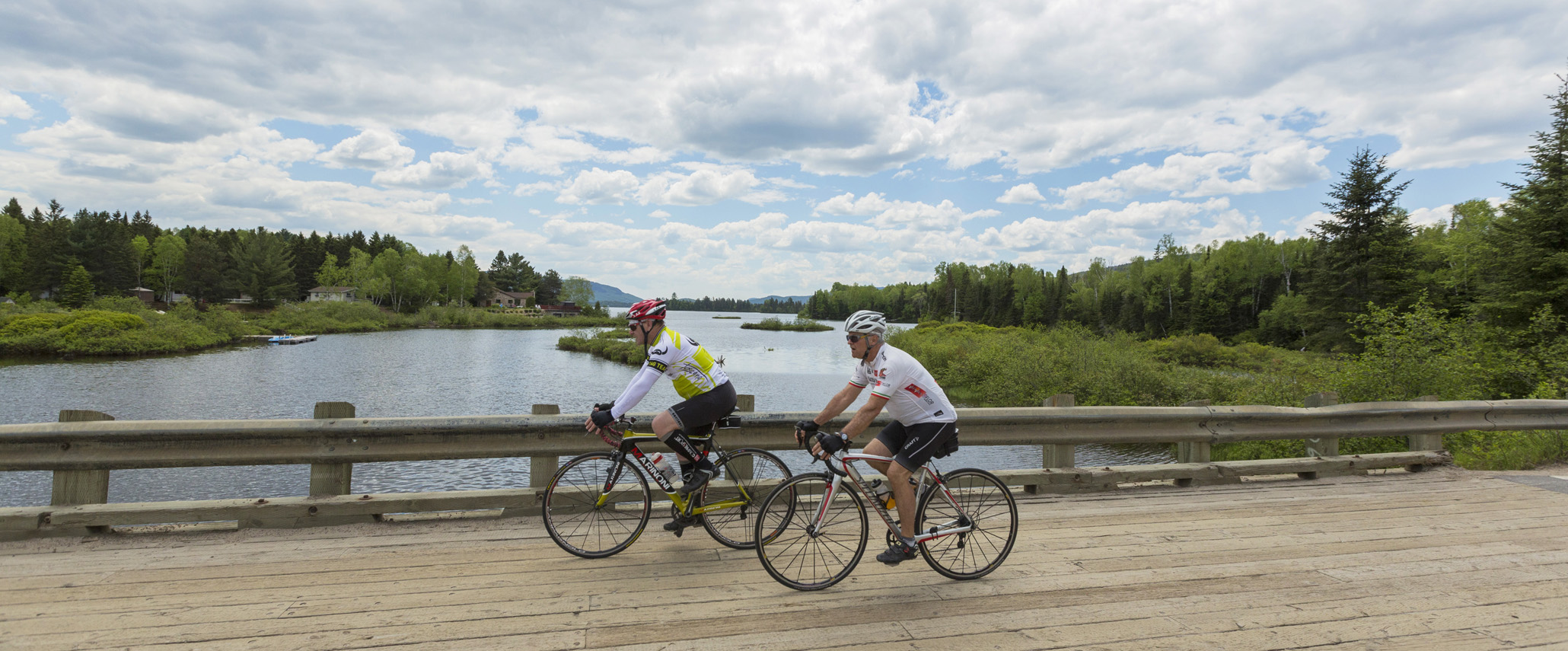 Circuits de vélo de  Saint-Donat