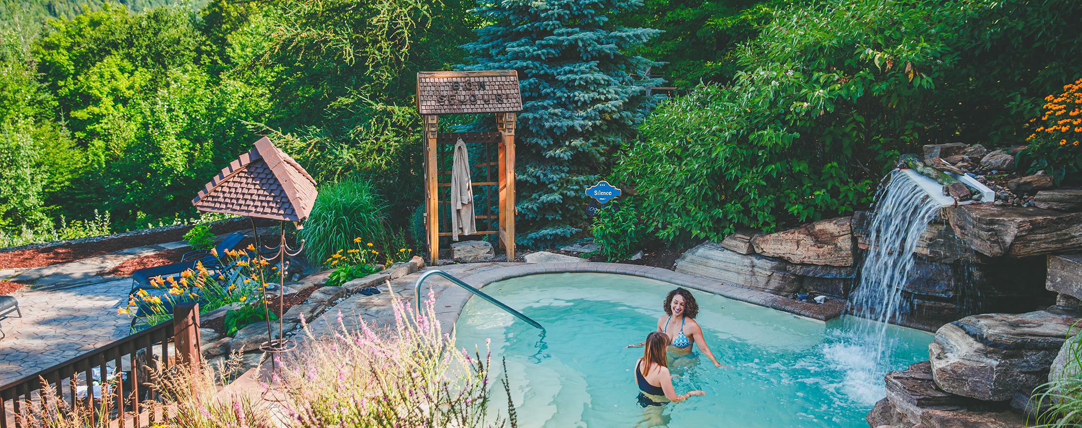Deux femmes au Spa Natur'Eau