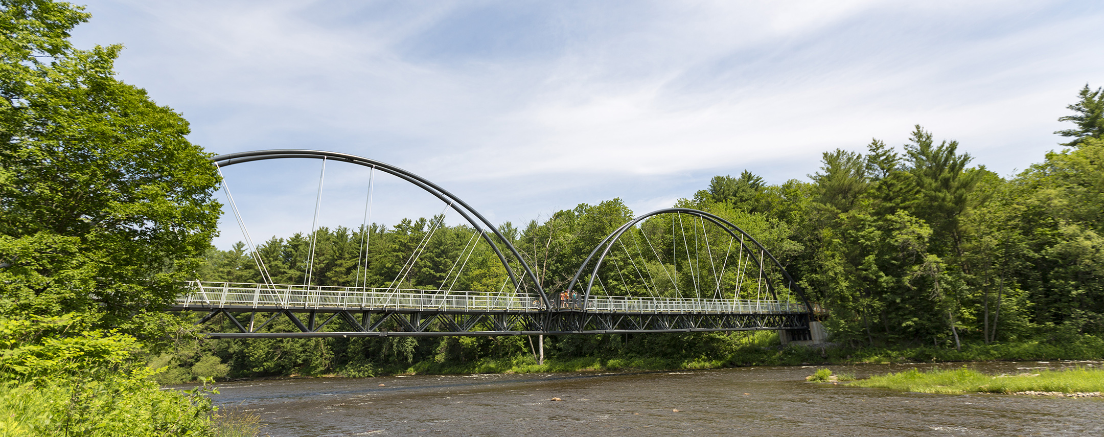 Île Vessot bridge