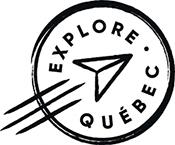 Logo Explore Québec sur la route