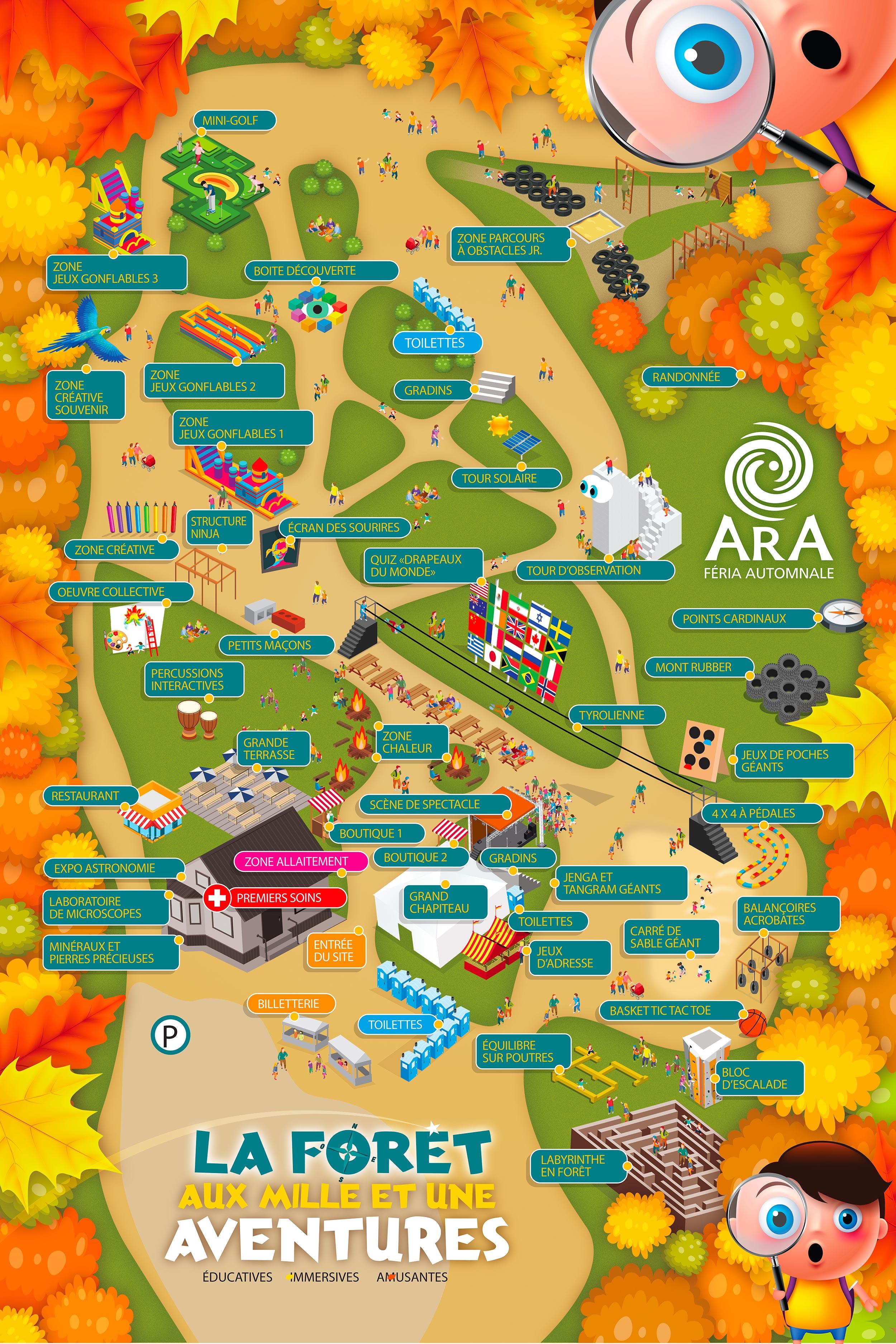 Carte site Ara-Féria