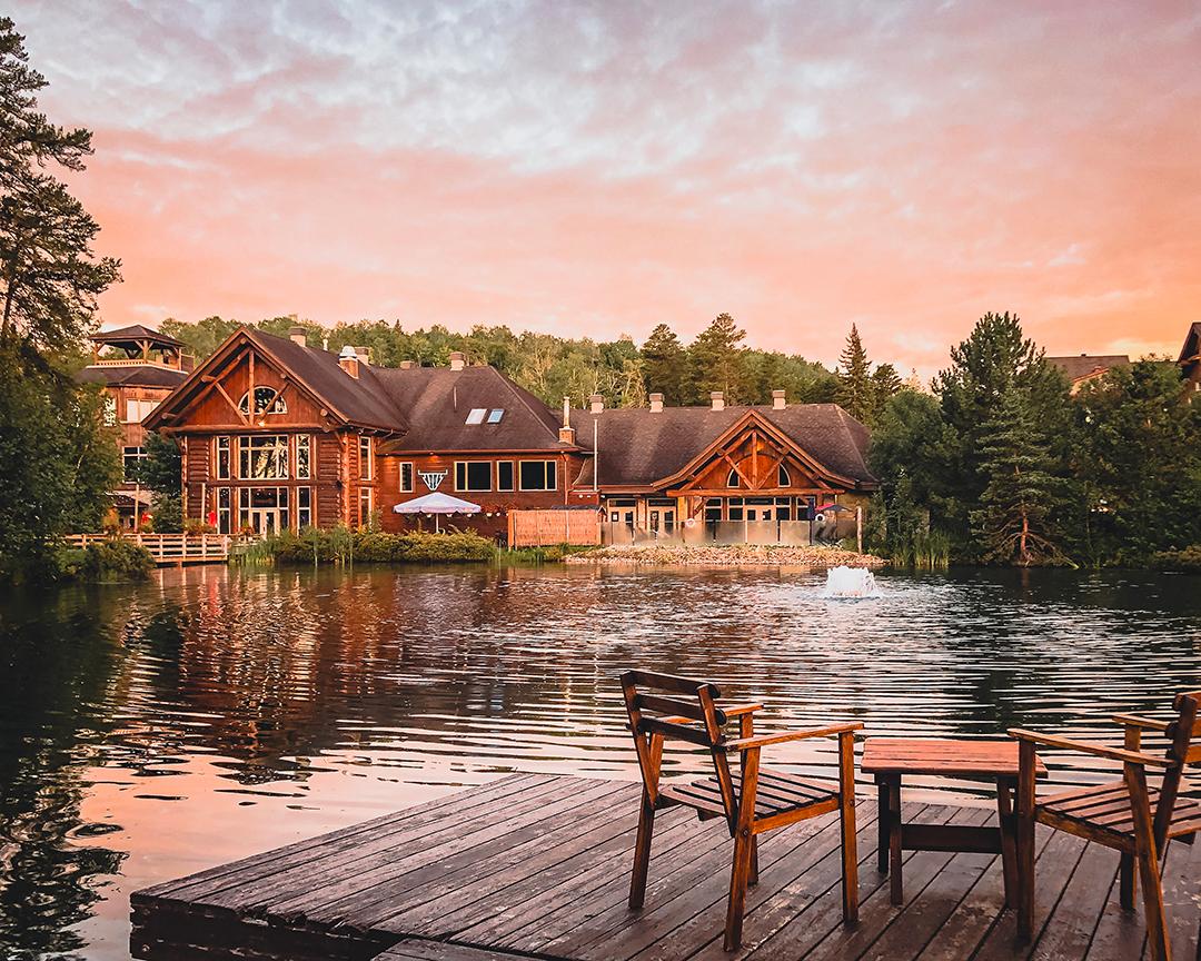 Crédit : Auberge du Lac Taureau