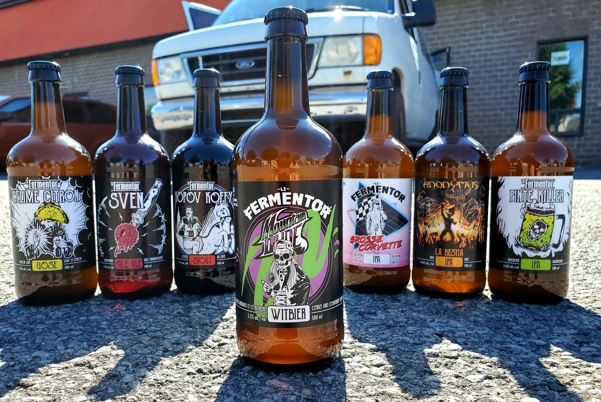 Bières du Fermentor