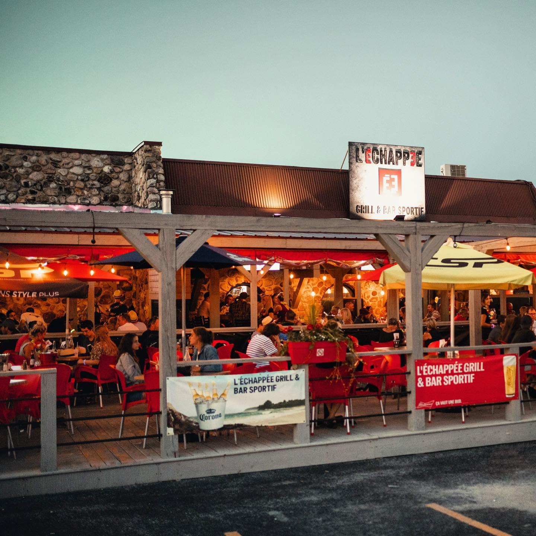 L'Échapée Grill et bar sportif