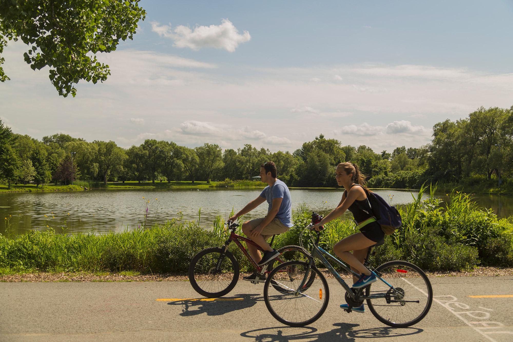 Vélo sur la Transterrebonne