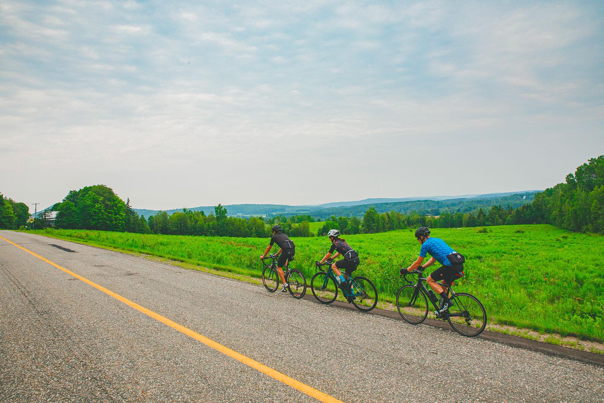 Vélo dans le Piémont
