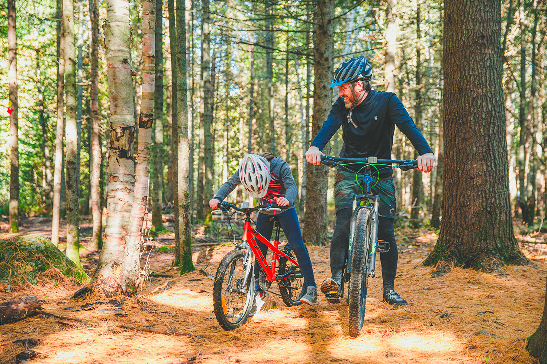 Vélo de montagne à Saint-Donat