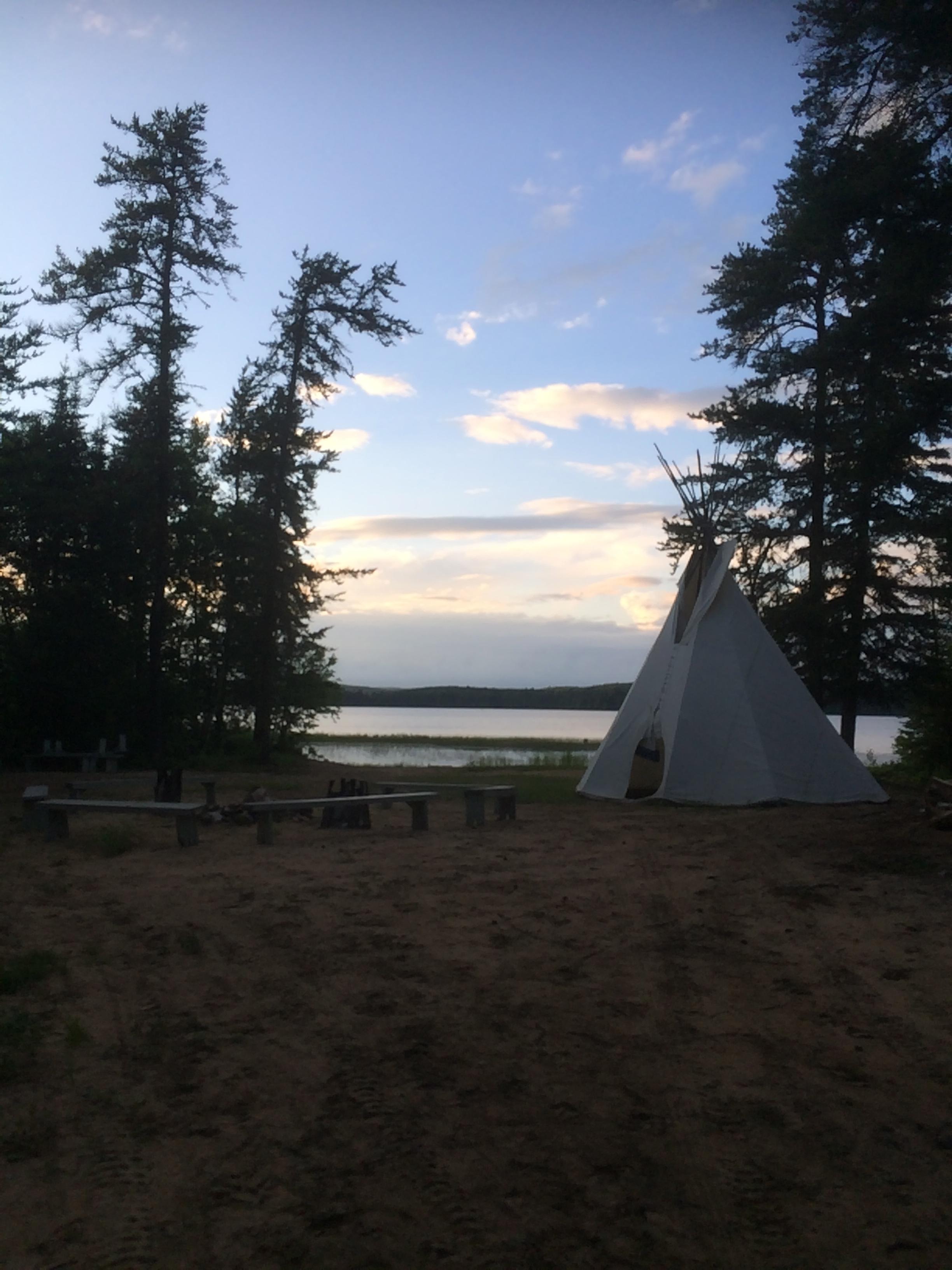 Tipi Auberge du Lac Taureau