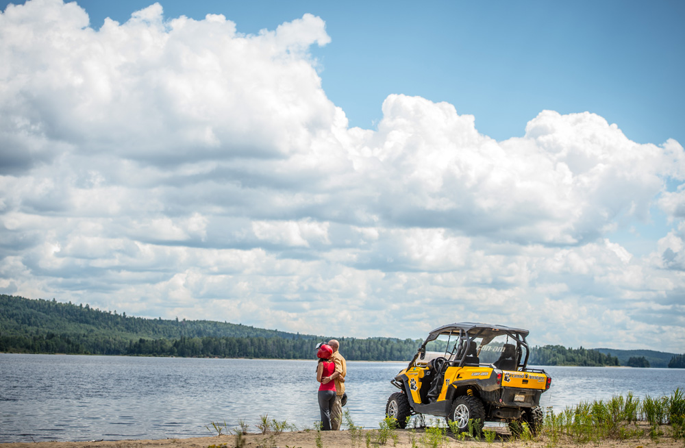 Quad Lac Taureau