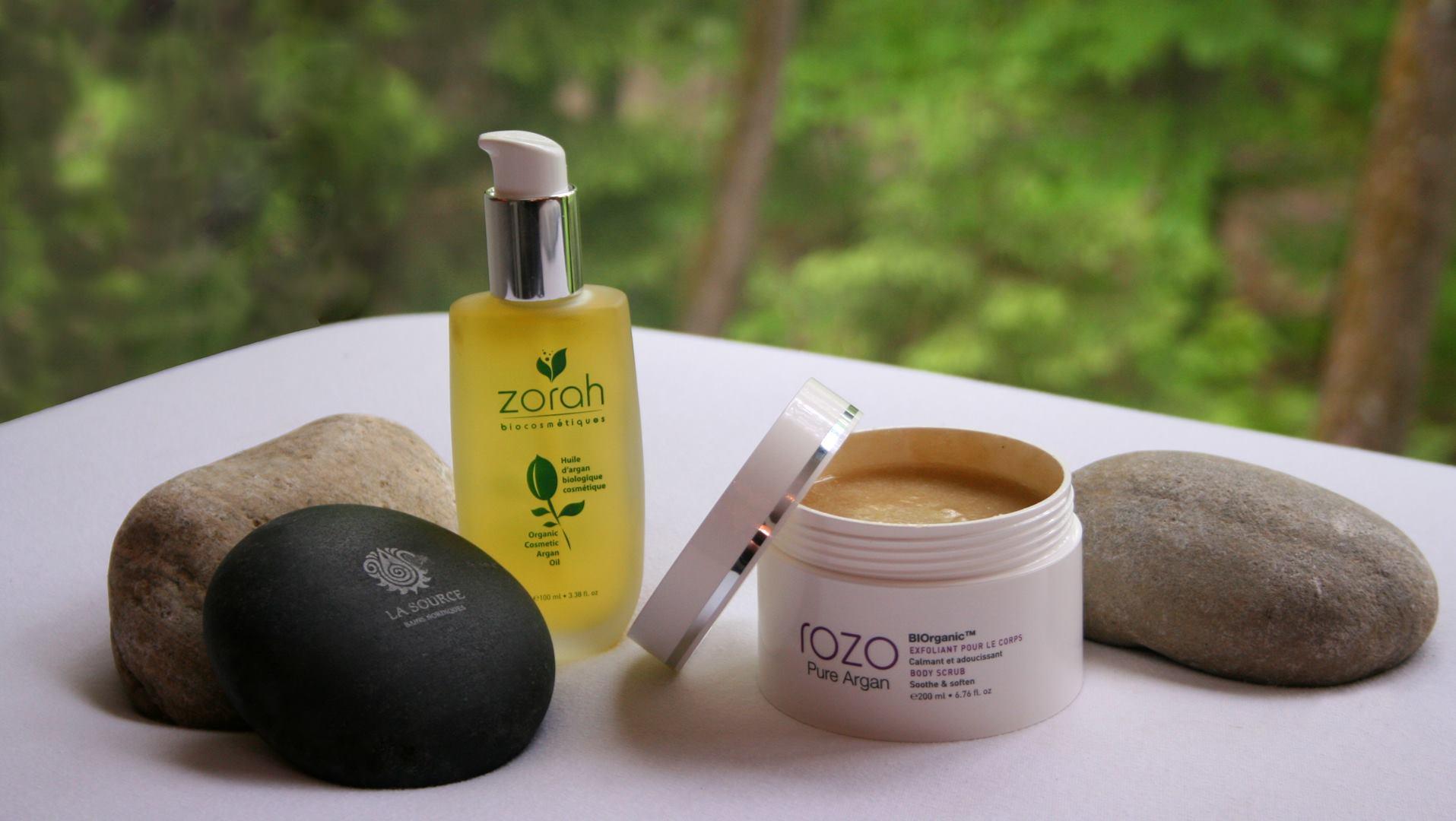 Produits Zorah biocosmétiques La Source bains nordiques