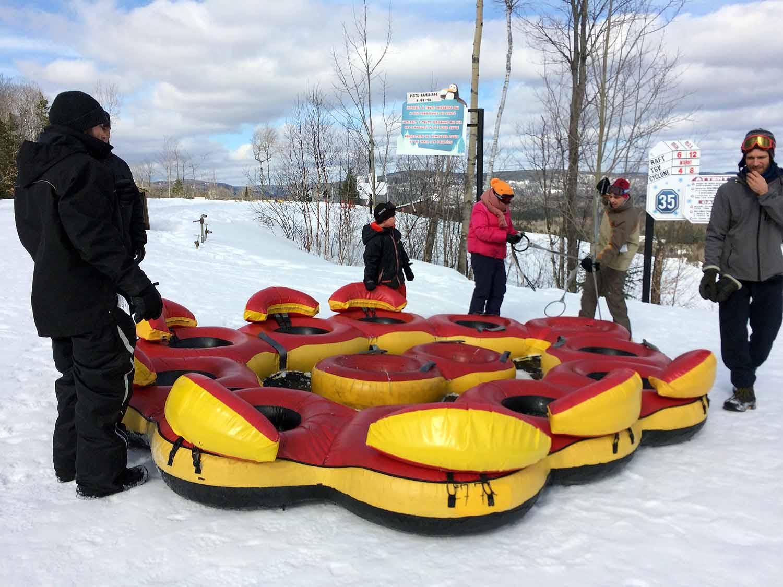 Rafting Super glissades Saint-Jean-de-Matha
