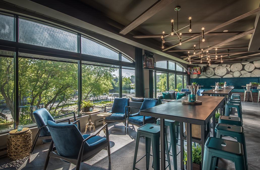 Bar de l'Hotel Chateau Joliette