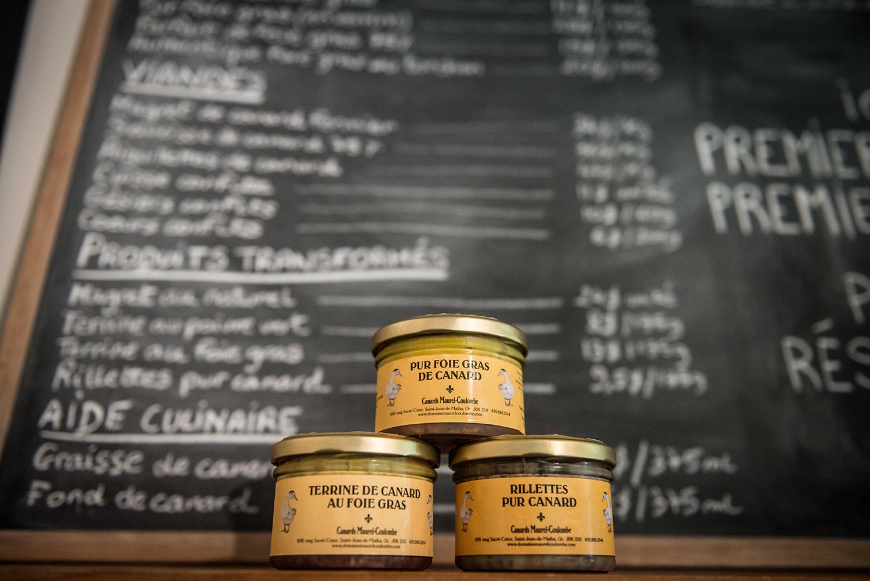 Foie gras de la Ferme Maurel-Coulombe