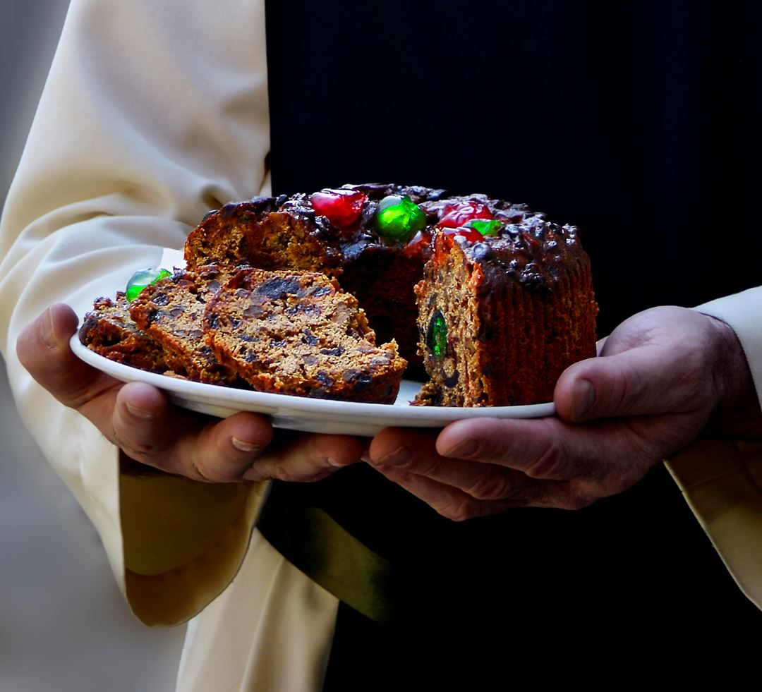 Gâteau aux fruits du Magasin de l'Abbaye Val Notre-Dame