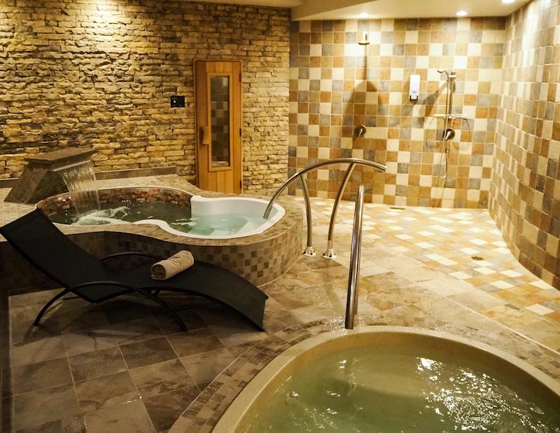 bains privés au Spa Santé corps et âme de L'Assomption