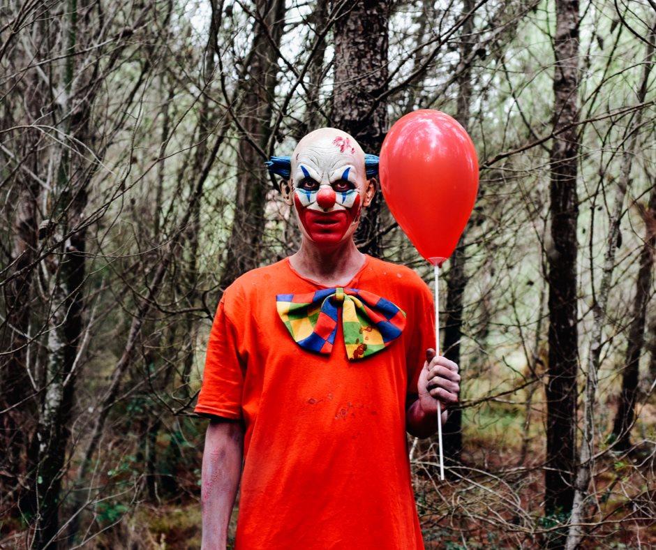 Clown épeurant du Festival Frissons